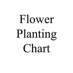 Picture of Flower Planting Chart