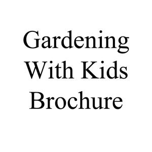 Picture of Gardening With Children Brochure