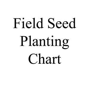Picture of Field Seed Planting Chart