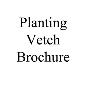 Picture of Crown Vetch Brochure