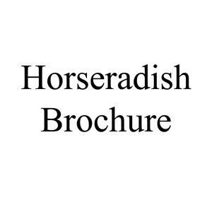Picture of Horseradish Brochure