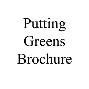 Picture of Putting Greens Brochure