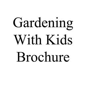 Picture of Gardening With Children Brochure