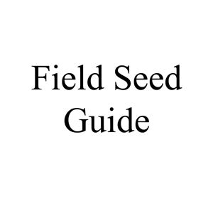 Picture of Field Seed Guide